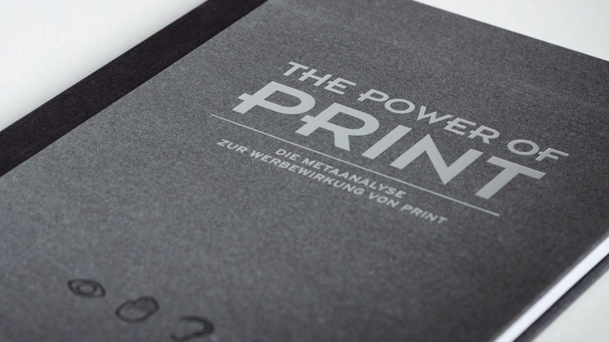 Analyse bestätigt Werbewirkung von Print